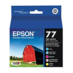 Epson 77 High Yield CyanLight CyanLight