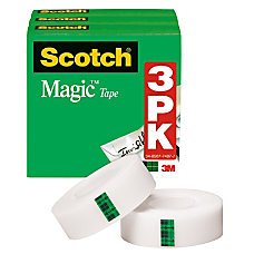 Scotch Magic Invisible Tape 12 x