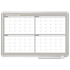 MasterVision InOut Magnetic Dry Erase 4