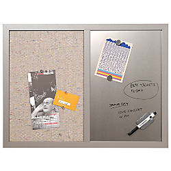 MasterVision Personal Board Dry EraseFabric Combo