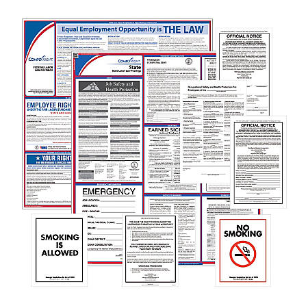 ComplyRight Federal, State And Public Sector Poster Subscription Service, English, Utah