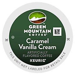 Green Mountain Pods Caramel Vanilla Cream