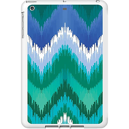OTM iPad Air Case - For Apple iPad Air Tablet - Classic Prints - White, Teal, Blue - Glossy
