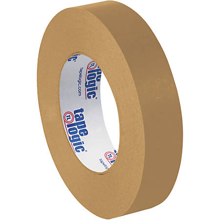 "Tape Logic® Flatback Tape, 3"" Core, 1"" x 60 Yd., Kraft, Case Of 36"