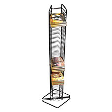 Atlantic Onyx CD Tower Steel