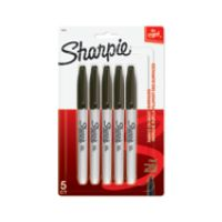 5-Pack Sharpie Permanent Fine-Point Markers