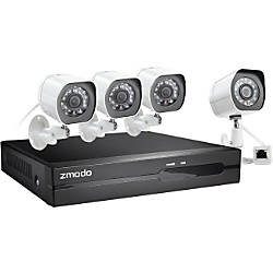 Zmodo 4 Channel 1080P Full HD