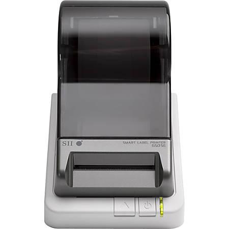 "Seiko Desktop Label Printer, 3.94""/Second, Serial Port - 3.94 in/s Mono - 300 dpi - Label, Address Label, File Folder Label, Name Badge Tag, Shipping Label, Multipurpose Label"