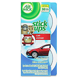 Airwick Stick Ups Car Air Fresheners