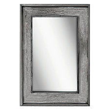 PTM Images Framed Mirror Bone Wood