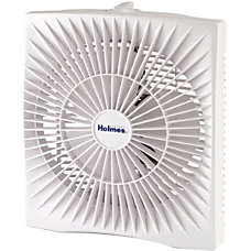 Holmes HABF120W Portable Fan 10 Diameter