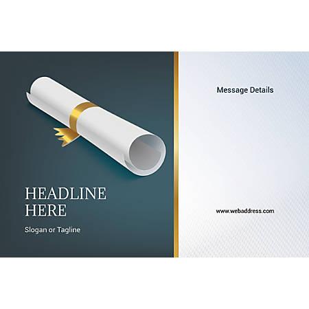 Custom Poster, Scroll, Horizontal
