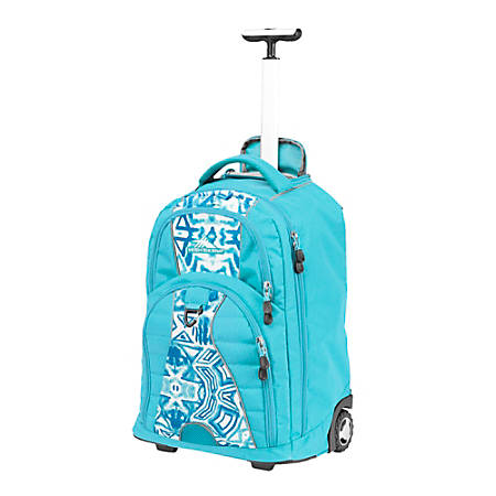 HIGH SIERRA Freewheel Rolling Backpack With 15 Laptop Pocket Teal ...