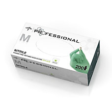 Medline Professional Disposable Powder Free Nitrile
