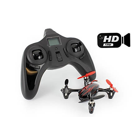 Hubsan X4 H107CHD Quadcopter With HD Camera, Royal Blue, H107CBLHD