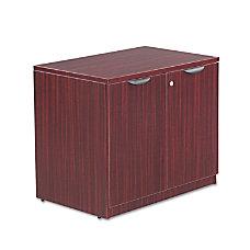 Alera Valencia Storage Cabinet Mahogany