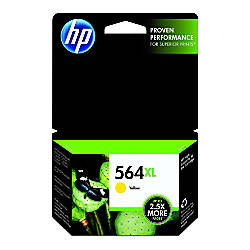 HP 564XL Yellow Original Ink Cartridge