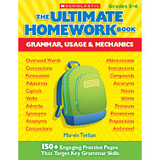 Scholastic The Ultimate Homework Book Grammar