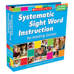 Scholastic Systematic Sight Word Instruction For