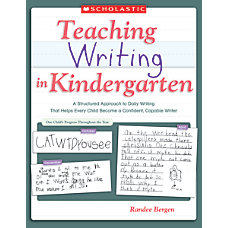 Scholastic Teaching Writing In Kindergarten
