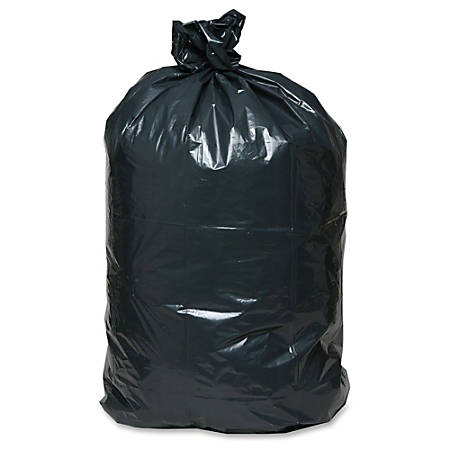 Webster Handi-Bag 2.5-mil Contractor Bags, 42 Gallons, Black, Pack Of 50