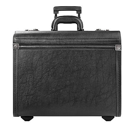 Solo® Lincoln Rolling Catalog Case, Black