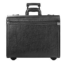 Solo Lincoln Rolling Catalog Case Black