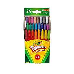 Crayola Twistables Crayons With Plastic Container