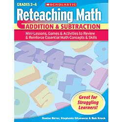 Scholastic Reteaching Math Addition Subtraction