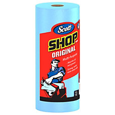 Scott 1 Ply Shop Towel Rolls