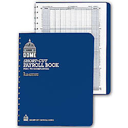Dome Short Cut Payroll Book 11