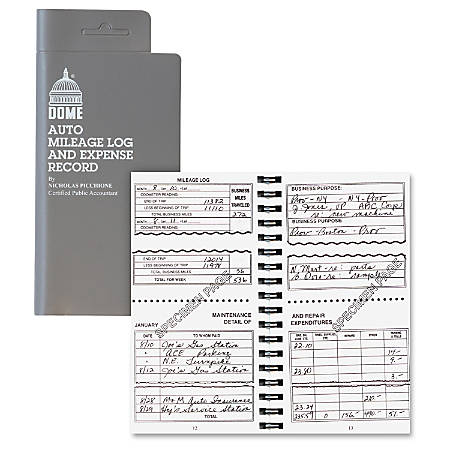 mileage logs at office depot officemax