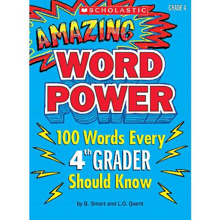 Scholastic Amazing Word Power, Grade 4