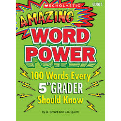 Scholastic Amazing Word Power Grade 5
