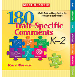 Scholastic 180 Trait Specific Comments Grades