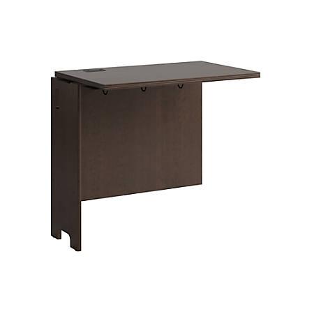 "Bush Furniture Envoy Desk Return, 32""W, Mocha Cherry, Standard Delivery"