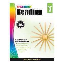 Carson Dellosa Spectrum Reading Grade 3