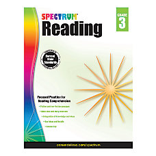 Carson Dellosa Spectrum Reading Grade 3