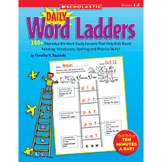 Scholastic Daily Word Ladders Grades 1