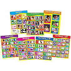 Carson Dellosa Chartlet Set Early Learning