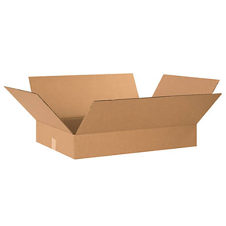 """Office Depot® Brand Corrugated Boxes, 4""""H x 16""""W x 22""""D, Kraft, Pack Of 25"""