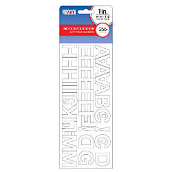 Cosco Vinyl Peel And Stick Letters And Numbers 1 Helvetica