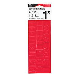 Cosco Vinyl Peel Stick Letters And