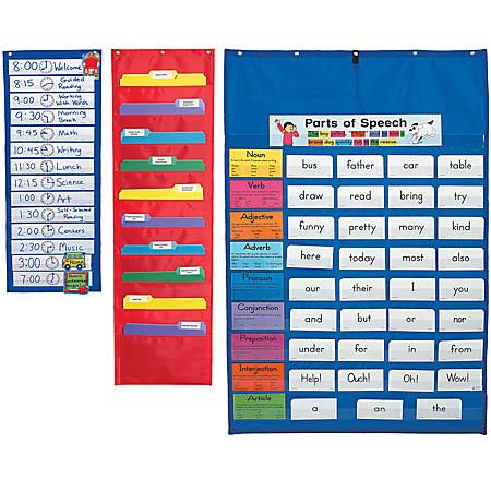 Carson-Dellosa Pocket Classroom Essentials Chart Set