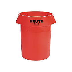55 gallon BRUTE Container Red without