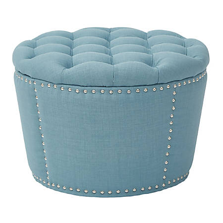 OSP Accents Lacey Tufted Storage Set, Milford Capri