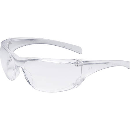 3M Virtua AP Safety Glasses - Lightweight, Anti-fog, Anti-scratch - Standard Size - Polycarbonate Lens, Polycarbonate Frame - Clear - 20 / Carton