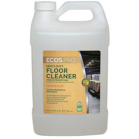 Earth Friendly Products Orange Plus Heavy-Duty Floor Cleaner, 1 Gallon