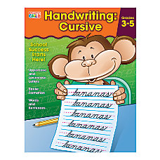 Carson Dellosa Brighter Child Handwriting Workbook