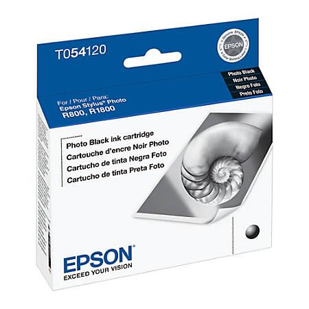 Epson® T0541 (T054120) UltraChrome™ Black Ink Cartridge